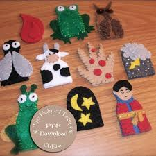 passover plague toys 10 plagues finger puppets for passover felt pattern children s