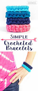 crochet bracelet images Simple crocheted bracelet scattered thoughts of a crafty mom by jpg