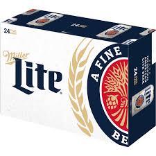 miller lite beer 24 pack 12 fl oz walmart com