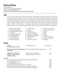resume deans list baas 1 15 resume