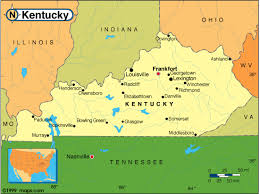 kentucky map kentucky map