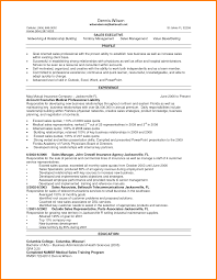 Inventory Experience Resume Resume Format For Medical Representative Sample Resume For