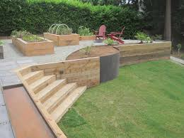 wood retaining wall design ideas video and photos