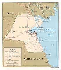 kuwait on a map maps of kuwait map library maps of the