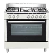 gaz electrique cuisine continental edison cecp9060mcr cuisinière table gaz 5 foyers
