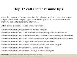 call center resume top 12 call center resume tips 1 638 jpg cb 1427435490