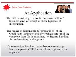 Estimate Mortgage Loan Approval by Respa Reform Ppt