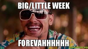 Little Meme - big little week forevahhhhhh make a meme