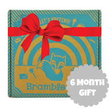 gift of the month 6 month bramble box subscription boxes for kids monthly box