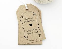 Thank You Tags Wedding Favors Templates by Succulent Wedding Favor Tag Printable Medium Tag Size