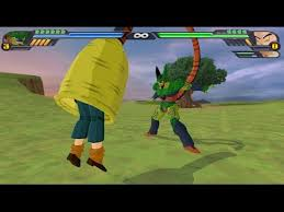 android 18 and cell cell absorbs android 18 and ko krillin in 1 hit before fighting