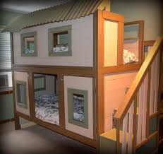 pottery barn tree house bed wood best house design fun ideas