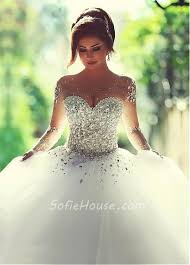 corset wedding dresses gown illusion neckline see through tulle sleeve corset