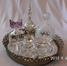 vanity trays for perfume crystal glass vanity tray home vanity decoration