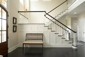 Contemporary Wainscoting Panels Wainscoting Modern Photo Albums Modern Staircase With Glass Panel