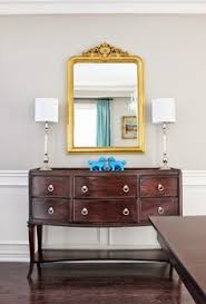 Lamps For Dining Room Buffet by Regal Brown Color U0026 Placement Of Mirror Exteriors Interiors