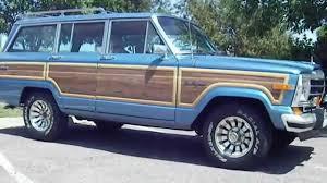 jeep wagoneer 1989 rare 1987 jeep grand wagoneer hard to find spinnaker blue original