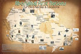 Map Of The United States Please by Indigenous Names And Places On Map Gives True Perspective On North