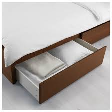 Bed Frame High Bedroom Box Bed Best Of Malm Bed Frame High W 2 Storage Boxes