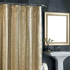 Colored Shower Curtain Gold Color Shower Curtains Decoration Glass Window Treatment Frame