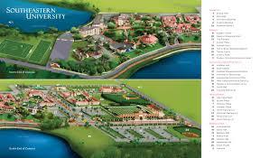 Florida State University Campus Map by Seu Campus Maps Southeastern University