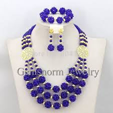 chunky necklace set images Splendid nigerian wedding beads jewellery set choker necklace set jpg