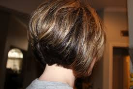 stacked bobs for curly fine hair short stacked bob front view stacked layered bob haircut back view