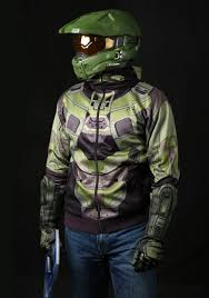 halo master chief costume hoodie