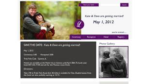 Wedding Websites Wedding Design Samples Chicago Wedding Websites