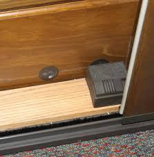Patio Door Foot Lock Foot Bolt Style Ox Rh Sliding Door Chagne Discontinued