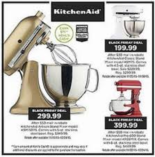 kitchenaid mixer black friday kohl u0027s black friday ad 2015 u2022 bargains to bounty