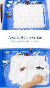 kids snow hunt and sensory exploration fun with mama