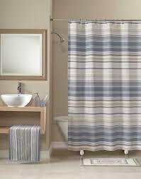Vertical Striped Shower Curtain Grey Horizontal Stripe Shower Curtain Shower Curtains Ideas