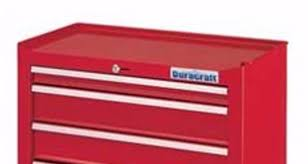 Duracraft Kitchen Cabinets Rolling Tool Box Storage 5 Drawer Cabinet Duracraft Red 31 Tall W
