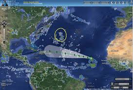 caribbean weather map pdc weather wall tropical cyclone activity report 8211