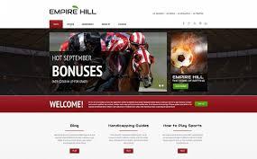template moto cms html para sites de apostas online