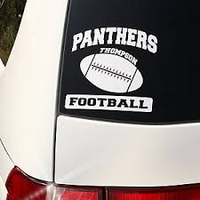 personalized sports car window decals