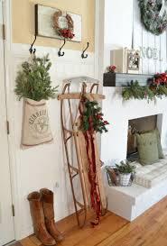 Wohnzimmer Weihnachtlich Dekorieren Mit Diesen Ideen Können Sie Den Alten Schlitten Weihnachtlich