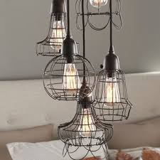 Pendant Light Wire Wire Cage Pendant Light Wayfair