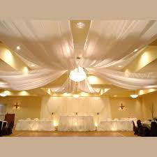 draped ceiling sheer ceiling draping kits