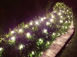 led net lights indoor outdoor mesh string netting for bushes tree