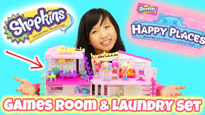 cool shopkins games room u0026 laundry set it u0027s time to expand our
