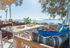 chambre d hote santorin chambres d hôtes sur l île de la plage de santorin photographie