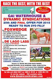 3000 leagues in search of mother foxwedge ex de lago lass 2yo filly with gai waterhouse