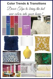 Trends Decor Fall Color Trends And Transitions Decor Tips Setting For Four