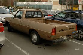 1985 dodge ram truck parked cars 1985 dodge ram d50 custom