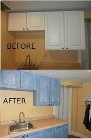 can i use chalk paint on laminate cabinets laminate cabinets sloan chalk paint blue with