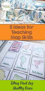 What Is A Physical Map Best 25 Teaching Map Skills Ideas Only On Pinterest Teaching