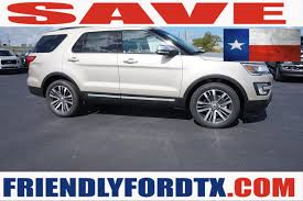 Ford Explorer Bucket Seats - new 2018 ford explorer for sale crosby tx vehicle vin