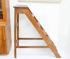 furniture inspiring diy step wooden library ladder ideas for home